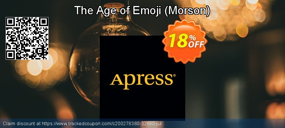 Get 10% OFF The Age of Emoji (Morson) offering discount