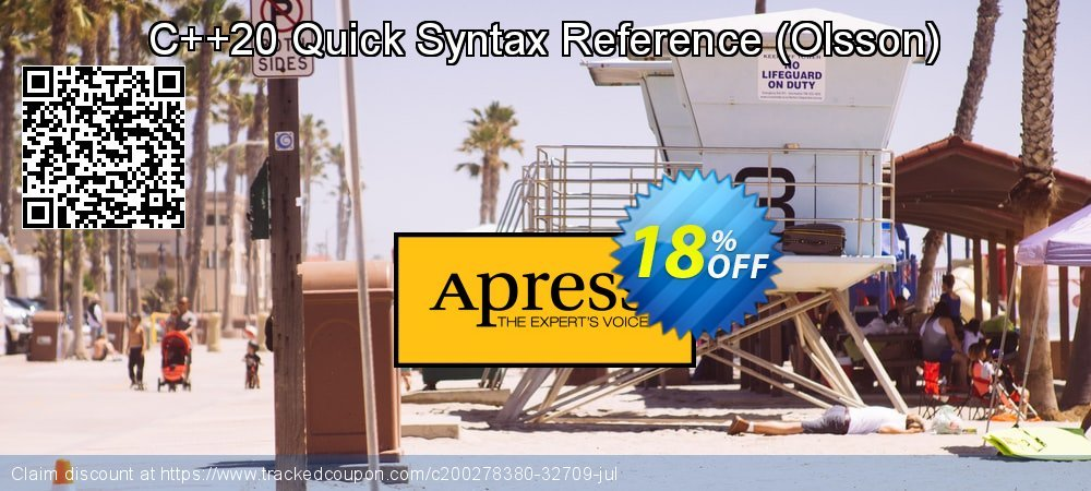 Get 10% OFF C++20 Quick Syntax Reference (Olsson) offering sales