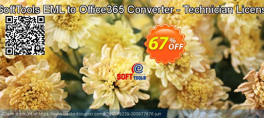 Get 67% OFF eSoftTools EML to Office365 Converter - Technician License offering deals