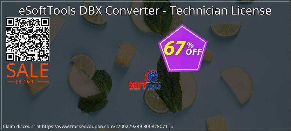 Get 67% OFF eSoftTools DBX Converter - Technician License offering sales