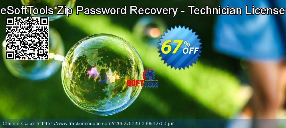 Get 67% OFF eSoftTools Zip Password Recovery - Technician License discounts