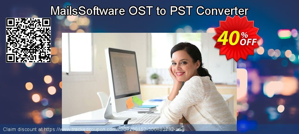 MailsSoftware OST to PST Converter coupon on April Fool's Day deals