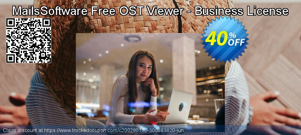 MailsSoftware Free OST Viewer - Business License coupon on April Fool's Day sales