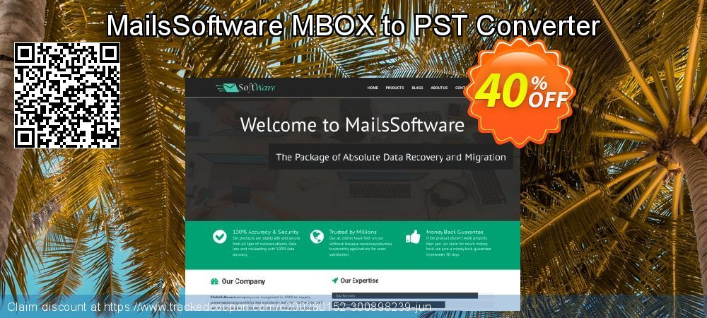 MailsSoftware MBOX to PST Converter coupon on Spring deals