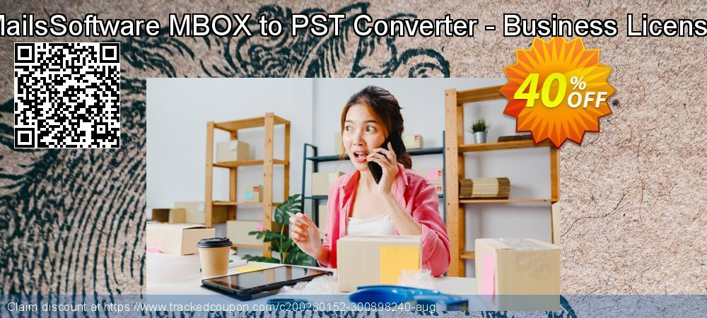 MailsSoftware MBOX to PST Converter - Business License coupon on April Fool's Day offer