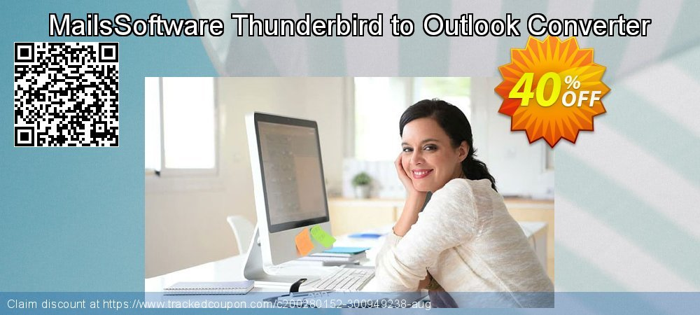 MailsSoftware Thunderbird to Outlook Converter coupon on Easter super sale
