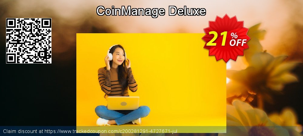CoinManage Deluxe coupon on University Student deals offer