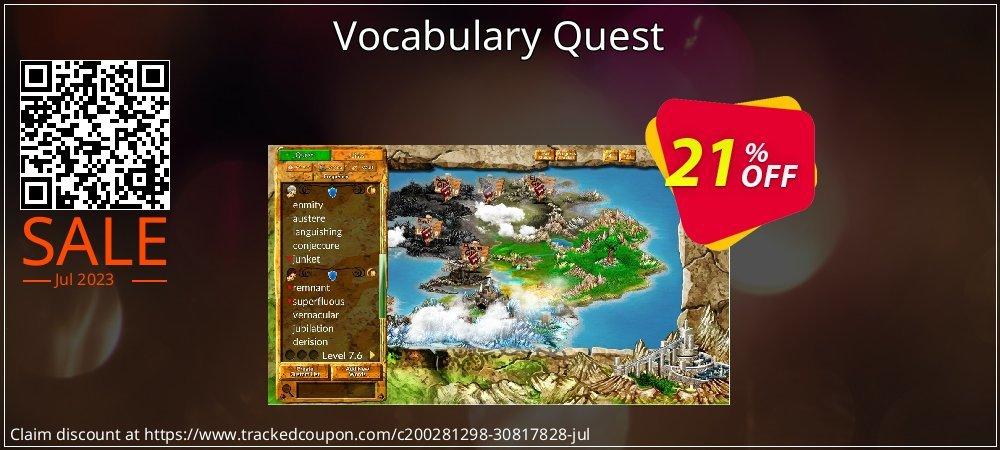 Get 20% OFF Vocabulary Quest offering deals