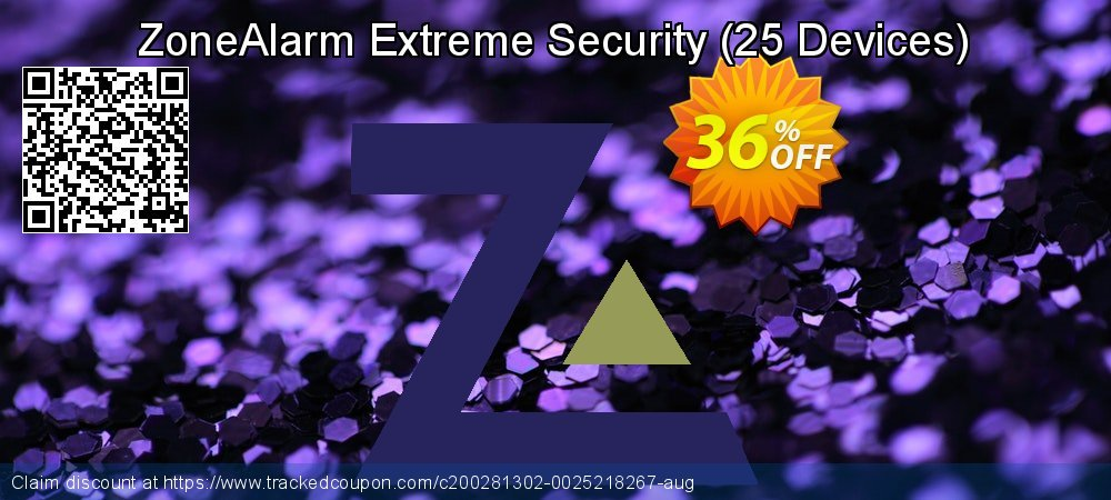 ZoneAlarm Extreme Security - 25 Devices  coupon on Lunar New Year offering sales