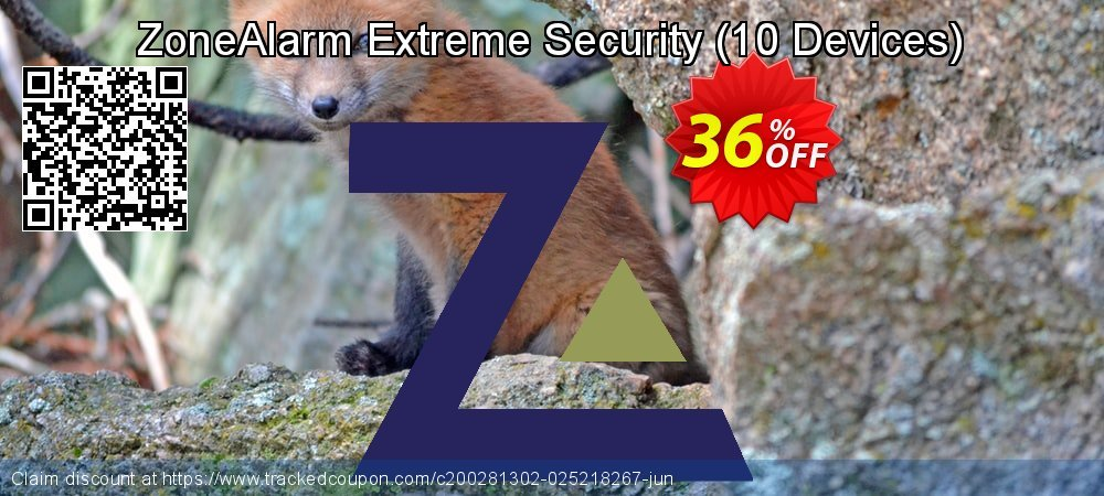 ZoneAlarm Extreme Security - 10 Devices  coupon on Lunar New Year offering sales