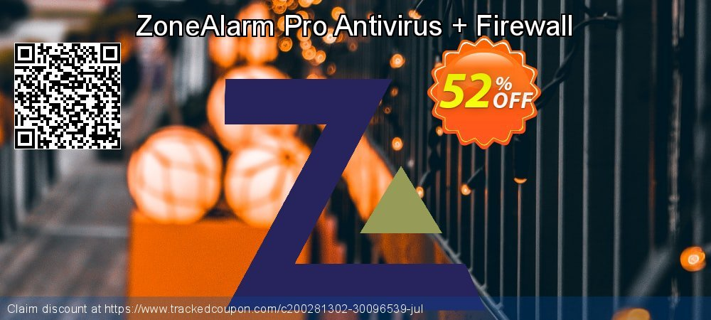 ZoneAlarm Pro Antivirus + Firewall coupon on Lunar New Year discounts
