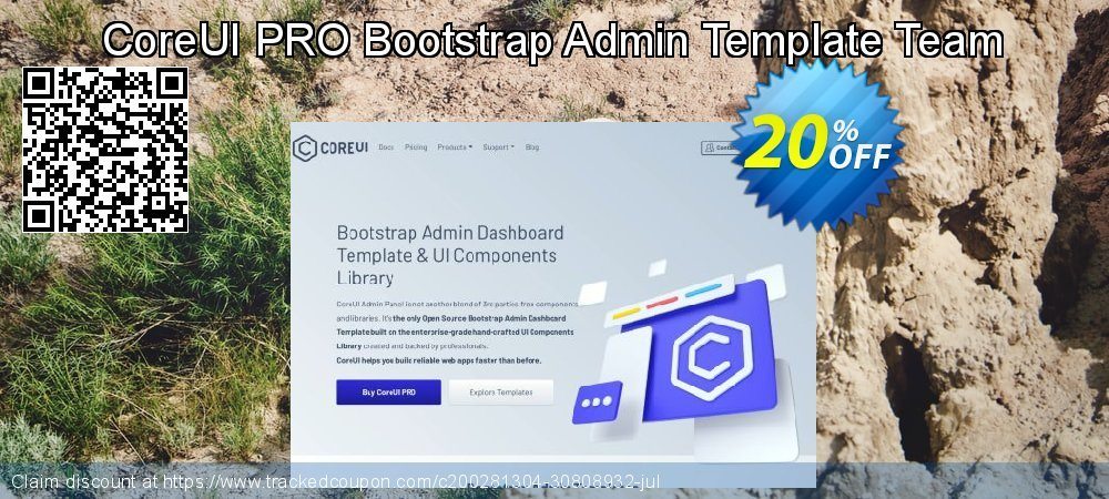 CoreUI PRO Bootstrap Admin Template Team coupon on Thanksgiving promotions