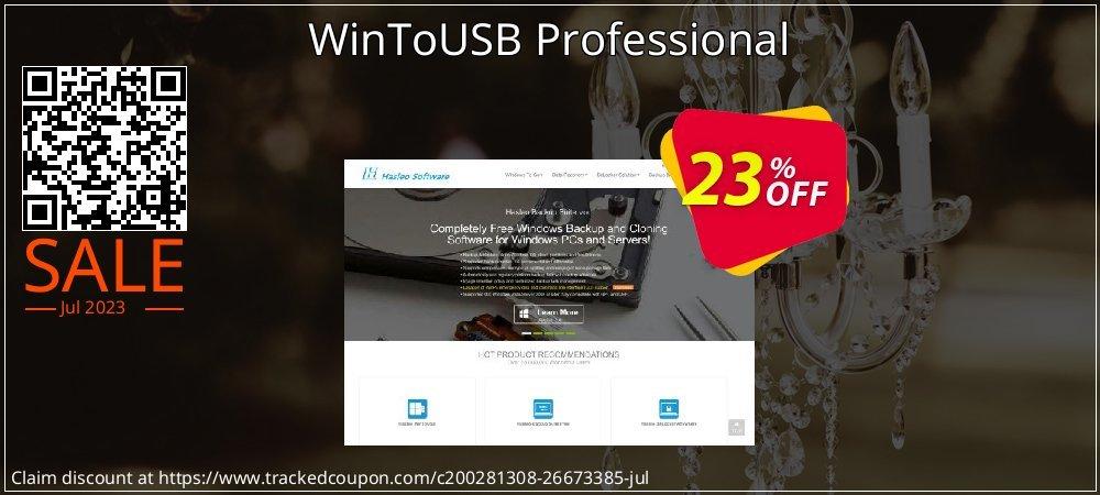 Get 20% OFF WinToUSB Professional promo