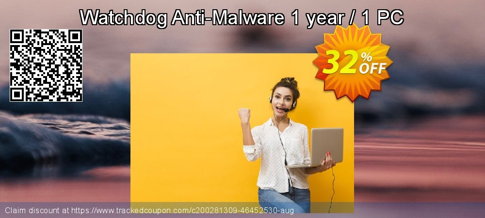 Watchdog Anti-Malware 1 year / 1 PC coupon on Easter offer