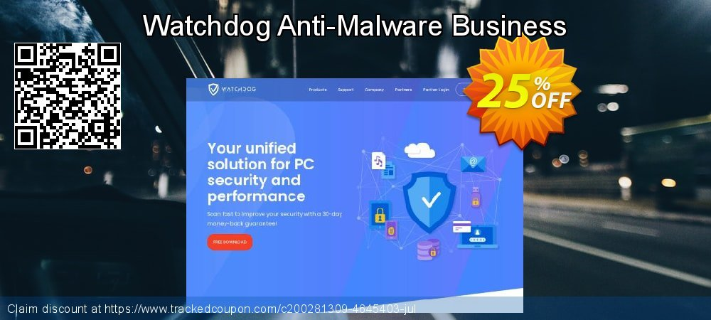 Watchdog Anti-Malware Business coupon on Spring promotions