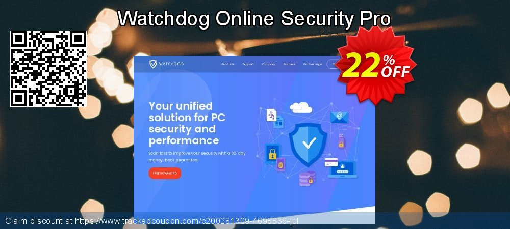 Watchdog Online Security Pro coupon on April Fool's Day promotions