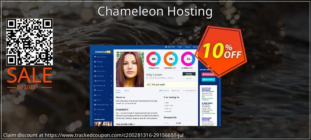 Chameleon Hosting coupon on Black Friday offering discount