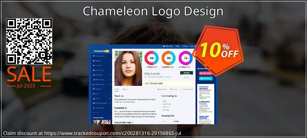 Chameleon Logo Design coupon on Black Friday offer