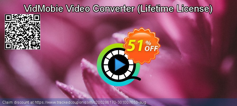 VidMobie Video Converter - Lifetime License  coupon on World Day of Music deals