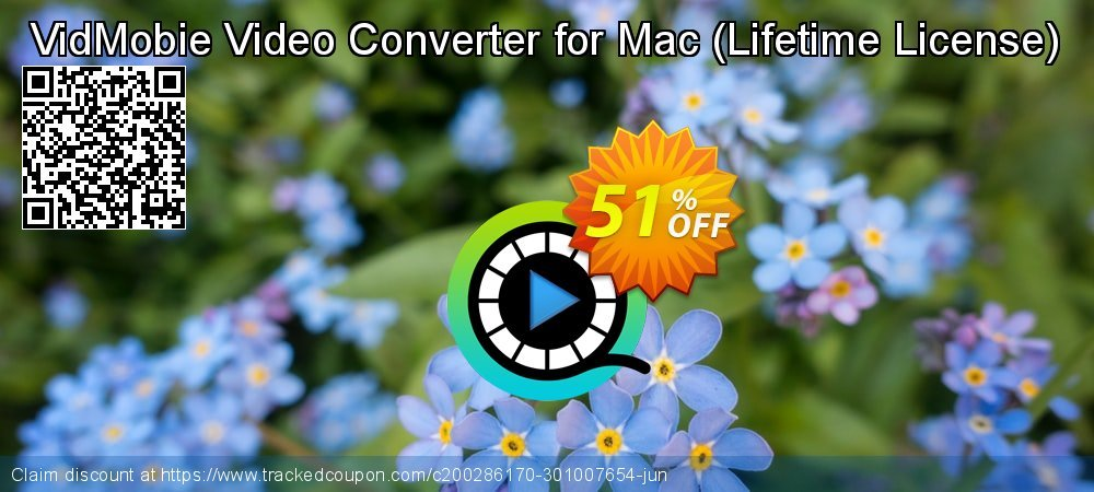 VidMobie Video Converter for Mac - Lifetime License  coupon on Hug Holiday offer