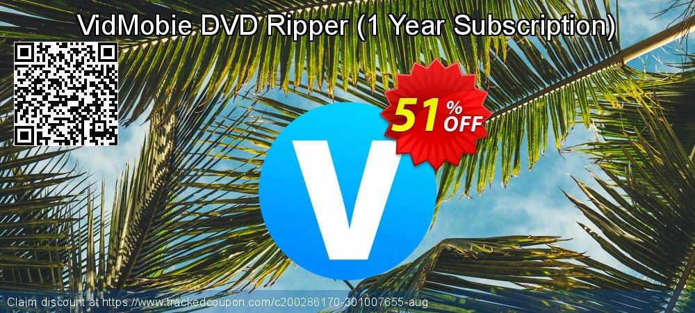 VidMobie DVD Ripper - 1 Year Subscription  coupon on Camera Day discount