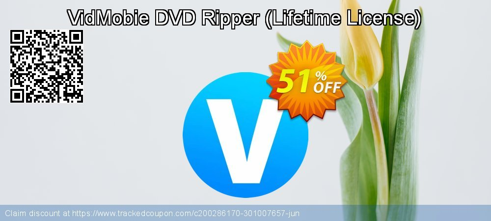 VidMobie DVD Ripper - Lifetime License  coupon on Father's Day offering sales