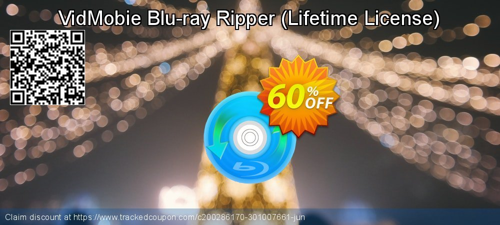 VidMobie Blu-ray Ripper - Lifetime License  coupon on Egg Day sales