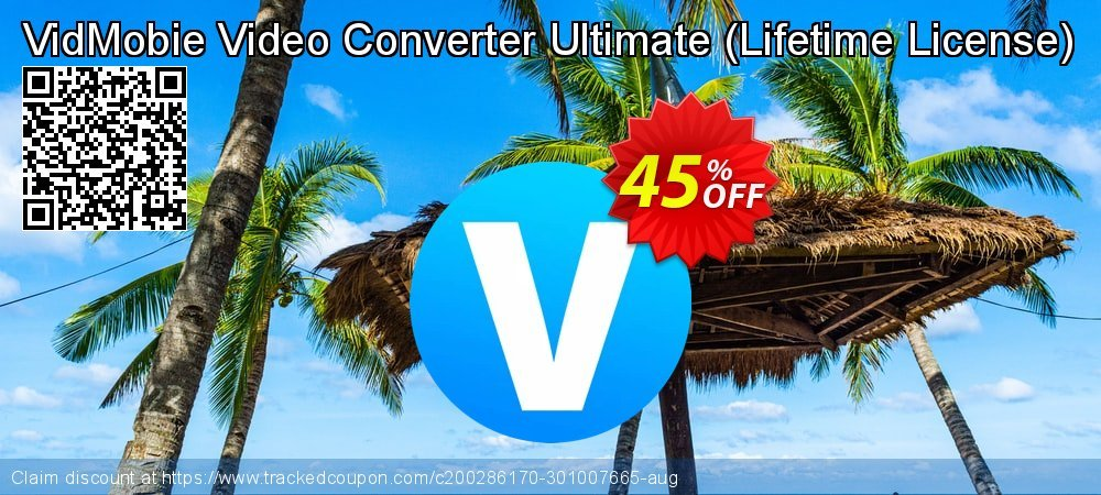 VidMobie Video Converter Ultimate - Lifetime License  coupon on National Kissing Day offering discount