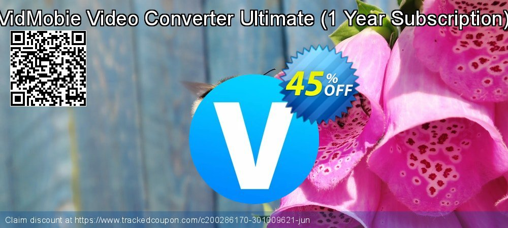 VidMobie Video Converter Ultimate - 1 Year Subscription  coupon on National Cheese Day discounts