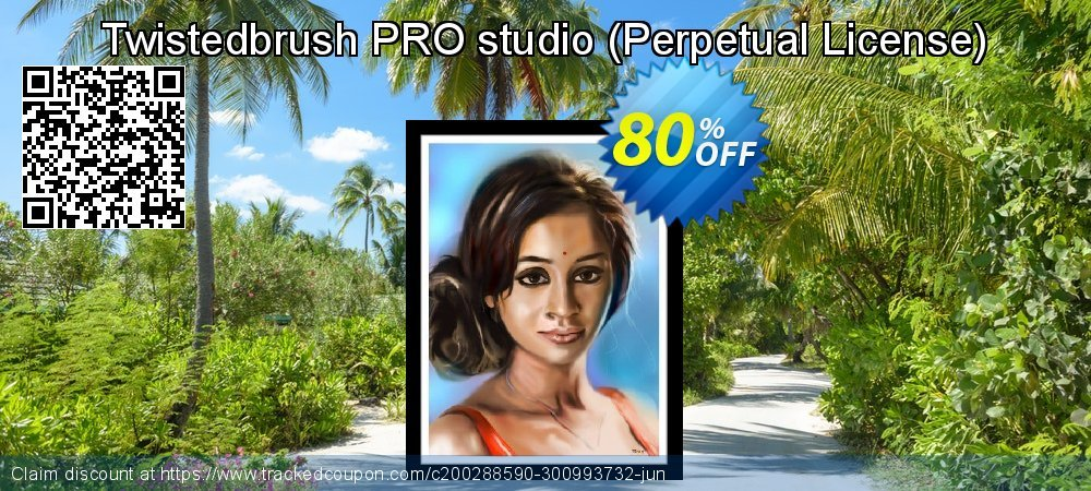 Get 80% OFF Twistedbrush PRO studio (Perpetual License) discounts