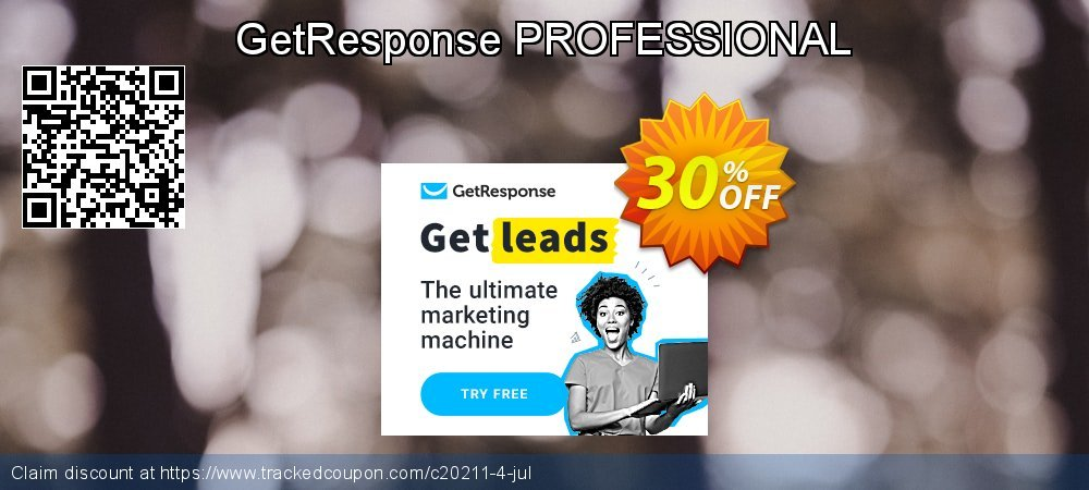 GetResponse PROFESSIONAL coupon on Read Across America Day offer