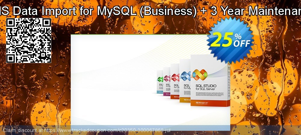 Get 20% OFF EMS Data Import for MySQL (Business) + 3 Year Maintenance promotions