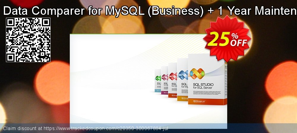 EMS Data Comparer for MySQL - Business + 1 Year Maintenance coupon on College Student deals promotions