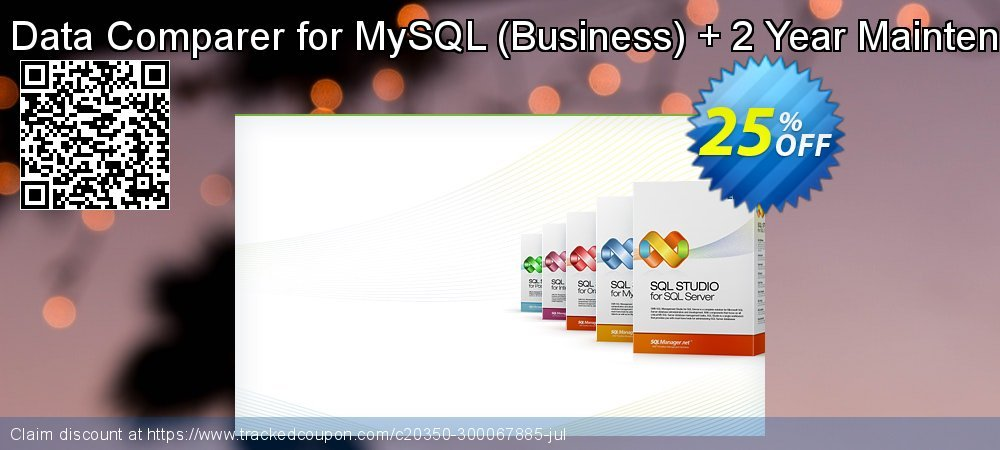 EMS Data Comparer for MySQL - Business + 2 Year Maintenance coupon on Back to School promotion sales