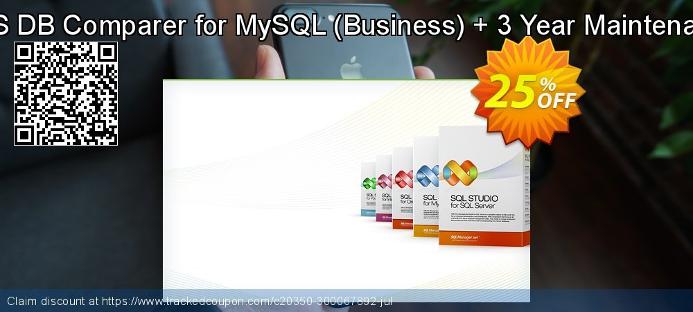 EMS DB Comparer for MySQL - Business + 3 Year Maintenance coupon on Halloween promotions