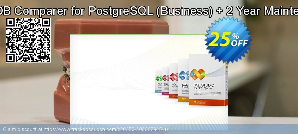 EMS DB Comparer for PostgreSQL - Business + 2 Year Maintenance coupon on Exclusive Student deals super sale