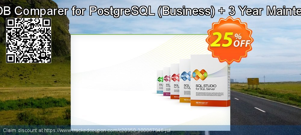 EMS DB Comparer for PostgreSQL - Business + 3 Year Maintenance coupon on Student deals discounts
