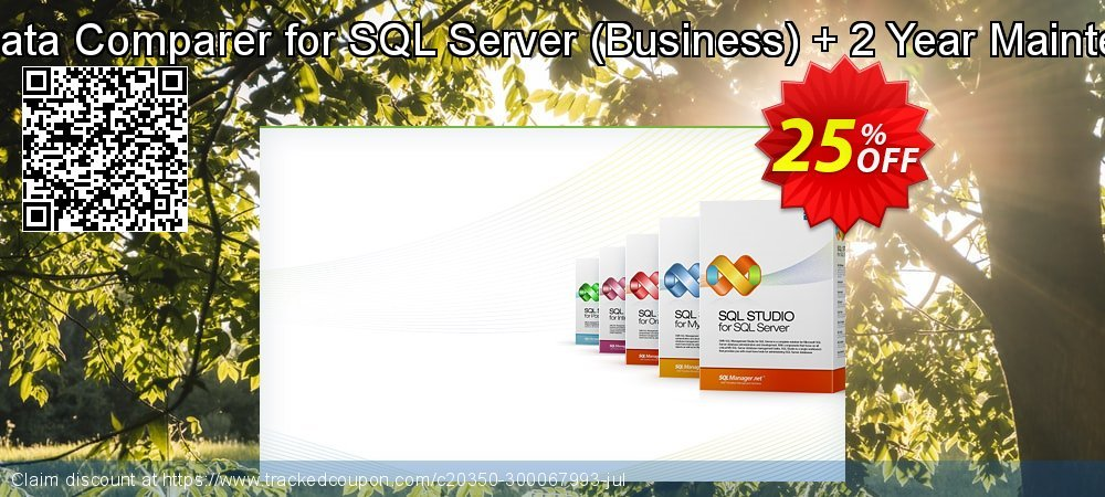 EMS Data Comparer for SQL Server - Business + 2 Year Maintenance coupon on Back to School offer sales