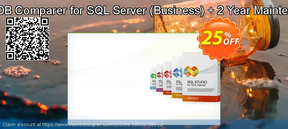 EMS DB Comparer for SQL Server - Business + 2 Year Maintenance coupon on Exclusive Teacher discount super sale