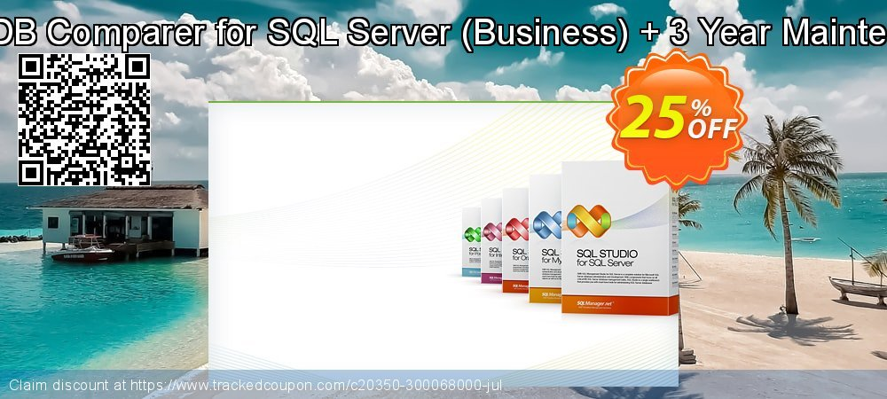 EMS DB Comparer for SQL Server - Business + 3 Year Maintenance coupon on University Student offer discounts