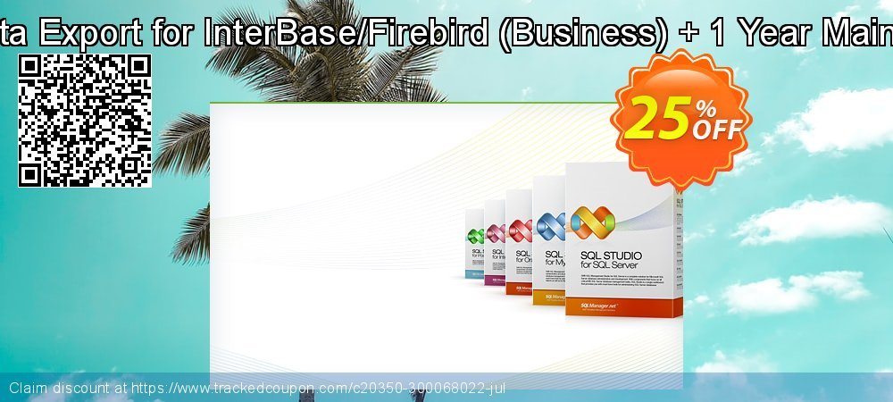 EMS Data Export for InterBase/Firebird - Business + 1 Year Maintenance coupon on Back to School promo offer