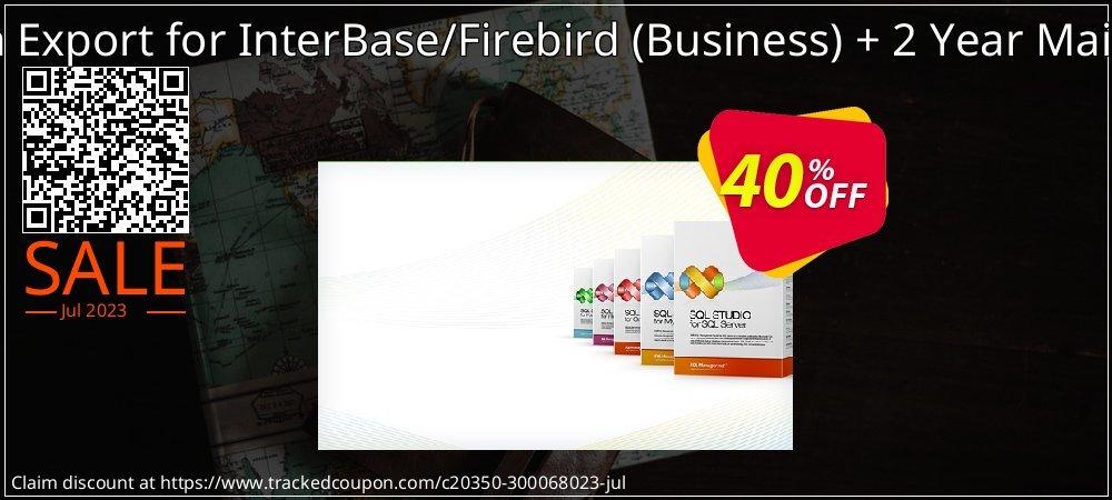 Get 20% OFF EMS Data Export for InterBase/Firebird (Business) + 2 Year Maintenance deals