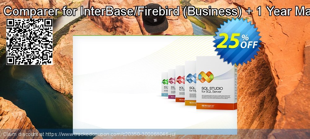 Get 20% OFF EMS Data Comparer for InterBase/Firebird (Business) + 1 Year Maintenance promo sales
