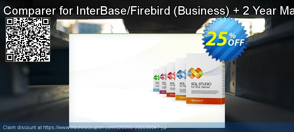 EMS Data Comparer for InterBase/Firebird - Business + 2 Year Maintenance coupon on Exclusive Student deals sales
