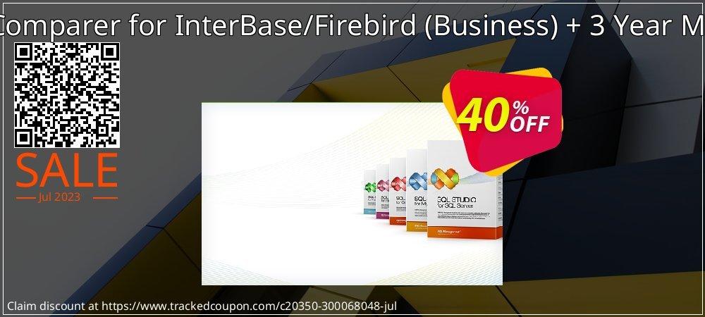 EMS Data Comparer for InterBase/Firebird - Business + 3 Year Maintenance coupon on Student deals deals