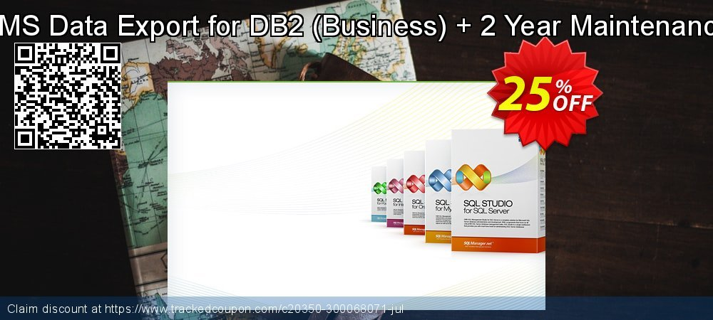 EMS Data Export for DB2 - Business + 2 Year Maintenance coupon on College Student deals super sale