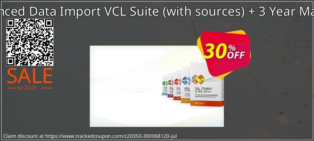 EMS Advanced Data Import VCL Suite - with sources + 3 Year Maintenance coupon on University Student deals deals