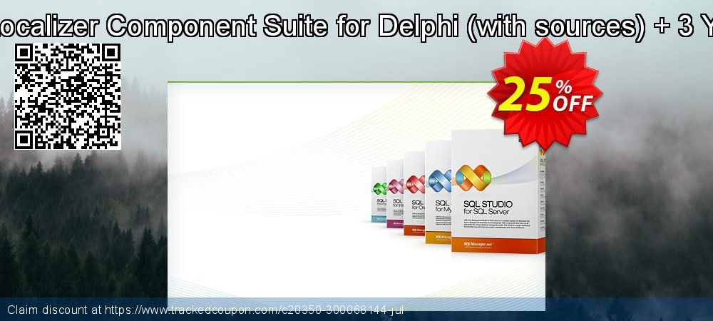 EMS Advanced Localizer Component Suite for Delphi - with sources + 3 Year Maintenance coupon on Halloween promotions