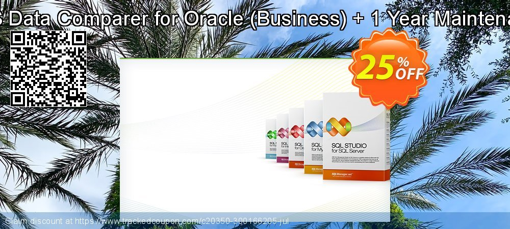 EMS Data Comparer for Oracle - Business + 1 Year Maintenance coupon on Exclusive Student deals offering discount