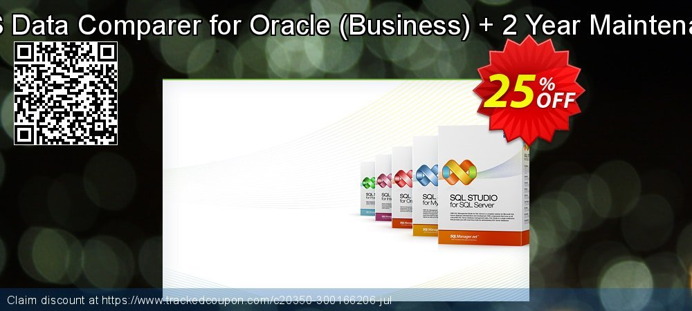 EMS Data Comparer for Oracle - Business + 2 Year Maintenance coupon on Student deals offering sales
